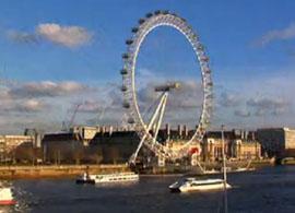 放眼伦敦 千禧之轮