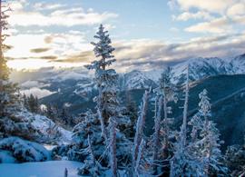 充沛精力―美国阿斯本/雪堆山滑雪村