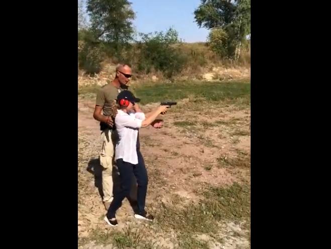 在乌克兰学射击
