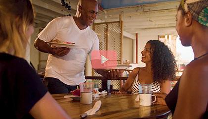加勒比-库拉索:美食和娱乐的天堂