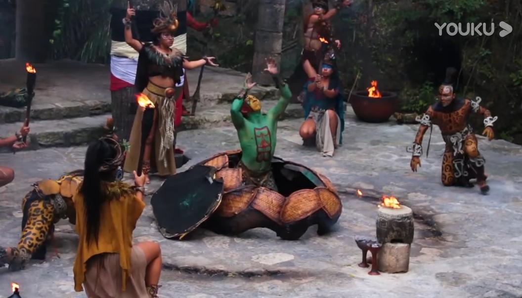 墨西哥西卡莱特公园带你穿越时空,回到古代的玛雅村落!