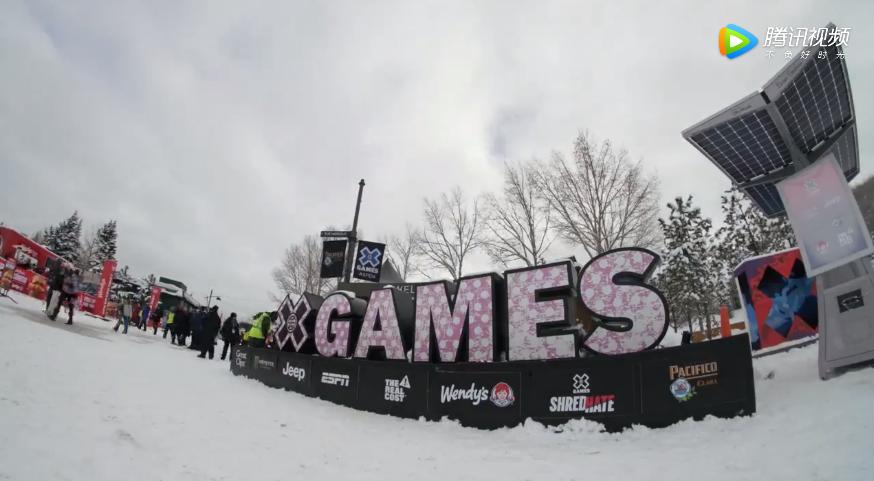 美国阿斯本滑雪:奶油山X Games第二日的比赛盛况